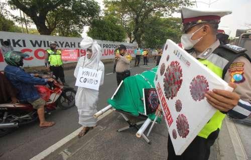 Diskresi Kepolisian di Balik Peristiwa Penjebolan Pagar Penyekat Jembatan Suramadu.