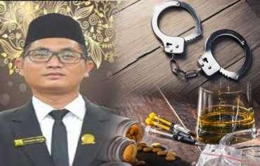 Memalukan, Anggota DPRD Labuhanbatu Utara Tertangkap Dua Kali Kasus Narkoba