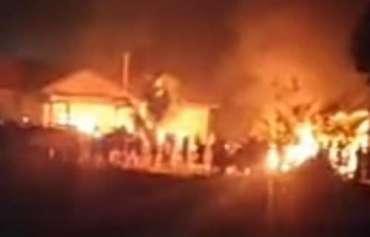 Mapolsek Candipuro Dibakar, 8 Orang Ditangkap