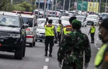 Ratusan Pemudik Balik ke Jakarta Positif Covid-19