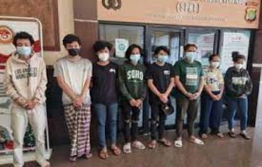 Delapan Terduga Pelaku Pengeroyokan Polisi Ditangkap