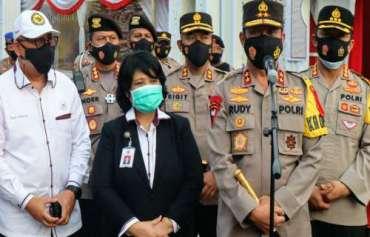 Kapolres Cilegon Damping Kapolda Banten Terima Kunjungan Kompolnas Di Merak