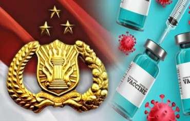 Polri Dukung Penuh Program Vaksinasi Massal