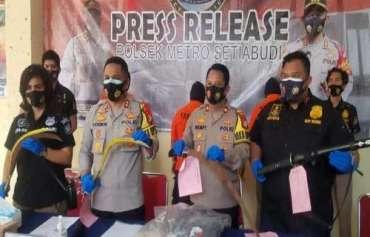 Tawuran Warga Saat Idul Adha di Setiabudi, Polisi Tangkap 15 Orang