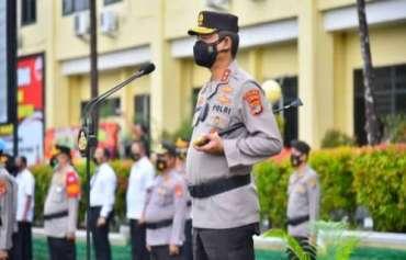 Pesan Kapolda kepada Para Kapolres Polda Lampung