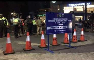 Tingkatkan Disiplin Protokol Kesehatan, Polda Metro Jaya Tambah Titik Penutupan Jalan Kawasan Penunjang Ibu Kota