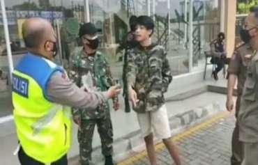 Ngaku Kerabat Jenderal Polisi, Seorang Remaja di Tangsel Menolak Ditindak Karena Kedapatan Melanggar Prokes