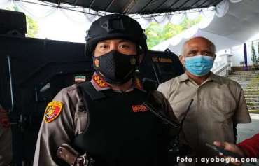 Kawal Geliat Perekonomian Kota Bogor, Kapolresta Bogor Dampingi UMKM