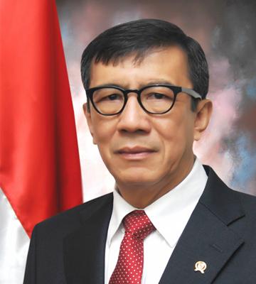 Prof. Yasonna Hamonangan Laoly, S.H., M.Sc., Ph.D.